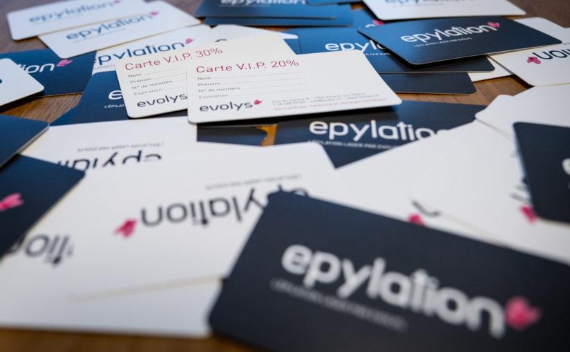 Cartes V.I.P – Epylation